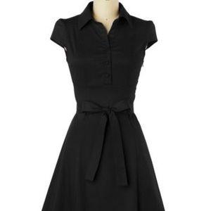 Soda Fountain Dress in Black